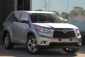 2015 Toyota Kluger GSU50R GXL (4x2) Silver Sky 6 Speed Automatic Wagon Old Guildford Fairfield Area Preview