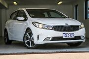 2018 Kia Cerato YD MY18 Sport White 6 Speed Sports Automatic Hatchback Melville Melville Area Preview