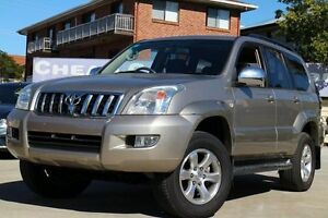 2005 Toyota Landcruiser Prado GRJ120R VX Gold 5 Speed Automatic Wagon Greenslopes Brisbane South West Preview