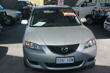 2005 Mazda 3 BK Neo Silver 5 Speed Manual Sedan Mitchell Gungahlin Area Preview