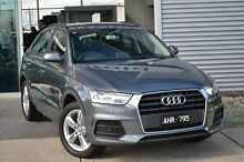 2016 Audi Q3 8U MY16 TFSI S tronic Grey 6 Speed Sports Automatic Dual Clutch Wagon Burwood Whitehorse Area Preview
