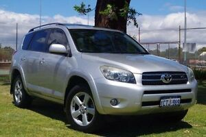 2008 Toyota RAV4 GSA33R MY08 SX6 Silver 5 Speed Automatic Wagon Leederville Vincent Area Preview