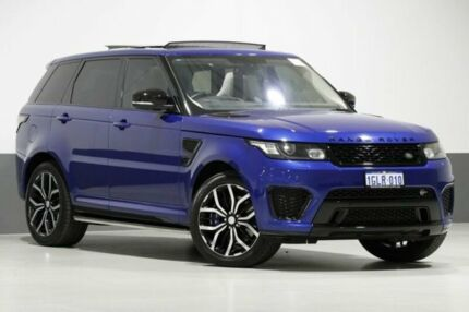 2015 Land Rover Range Rover LW MY16.5 Sport SC SVR Blue 8 Speed Automatic Wagon Bentley Canning Area Preview