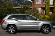 2013 Jeep Grand Cherokee WK MY2014 Overland Silver 8 Speed Sports Automatic Wagon St Marys Mitcham Area Preview