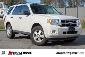2010 Ford Escape XLT ONE OWNER, LOW KM, B.C. CAR!