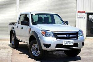 2011 Ford Ranger PK XL Crew Cab Hi-Rider Silver 5 Speed Automatic Utility Seaford Frankston Area Preview