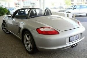 2007 Porsche Boxster 987 MY07 S Silver 5 Speed Sports Automatic Convertible Wangara Wanneroo Area Preview