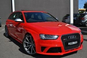 2015 Audi RS4 B8 8K MY15 Avant S tronic quattro Red 7 Speed Sports Automatic Dual Clutch Wagon Burwood Whitehorse Area Preview