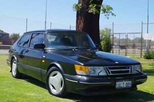1991 Saab 900 TU4M16S Aero Black 5 Speed Manual Coupe Leederville Vincent Area Preview