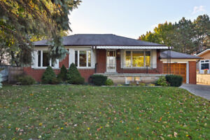 Dundas/Hurontario area - 3 bedroom bungalow for rent from Dec 01