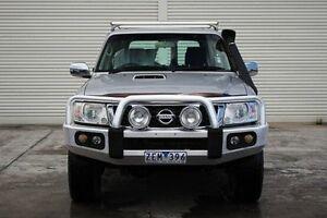 2012 Nissan Patrol Y61 GU 8 ST Silver 4 Speed Automatic Wagon Seaford Frankston Area Preview