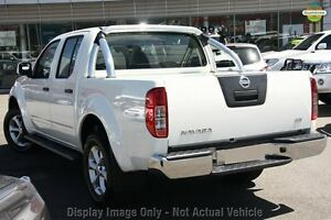 2014 Nissan Navara D40 S6 MY12 ST White 5 Speed Sports Automatic Utility Cannington Canning Area Preview
