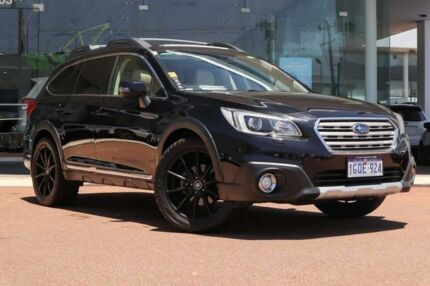 2015 Subaru Outback B6A MY15 3.6R CVT AWD Black 6 Speed Constant Variable Wagon Osborne Park Stirling Area Preview