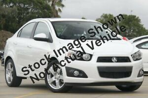 2012 Holden Barina TM MY13 CDX White 6 Speed Automatic Sedan Ashmore Gold Coast City Preview