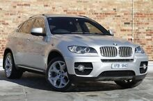 2010 BMW X6 E71 MY10.5 xDrive50i Coupe Steptronic Silver 8 Speed Sports Automatic Wagon North Melbourne Melbourne City Preview