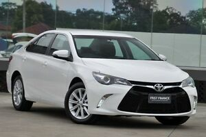 2015 Toyota Camry ASV50R MY15 Atara S Diamond White 6 Speed Automatic Sedan Old Guildford Fairfield Area Preview