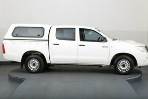 2011 Toyota Hilux KUN16R MY12 SR White 5 Speed Manual Dual Cab Pick-up Smithfield Parramatta Area Preview