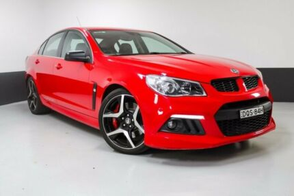 2014 Holden Special Vehicles Clubsport GEN-F MY14 R8 Red 6 Speed Manual Sedan