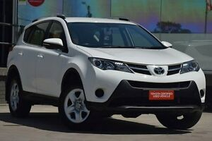 2015 Toyota RAV4 ASA44R MY14 Upgrade GX (4x4) Glacier White 6 Speed Automatic Wagon Old Guildford Fairfield Area Preview