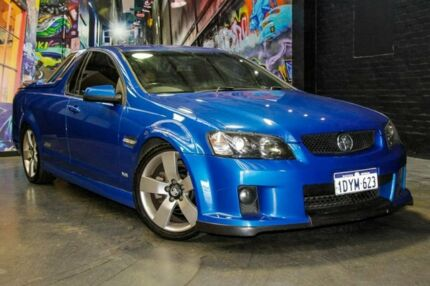 2009 Holden Ute VE MY10 SS V Blue 6 Speed Sports Automatic Utility