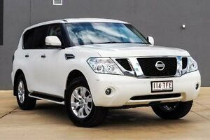 2013 Nissan Patrol Y62 TI White 7 Speed Sports Automatic Wagon Yeerongpilly Brisbane South West Preview
