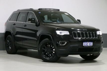 2015 Jeep Grand Cherokee WK MY15 Laredo (4x2) Black 8 Speed Automatic Wagon Bentley Canning Area Preview