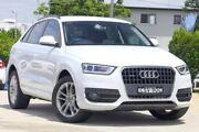 2014 Audi Q3 8U MY14 TFSI S tronic quattro White 7 Speed Sports Automatic Dual Clutch Wagon Kedron Brisbane North East Preview