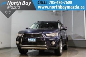 2012 Mitsubishi Outlander LS 4WD with Bluetooth, Sunroof, New Ti