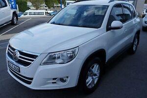 2011 Volkswagen Tiguan 5NC MY11 103 TDI White 7 Speed Automatic Wagon Port Macquarie Port Macquarie City Preview