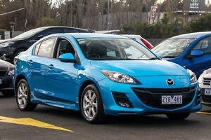 2009 Mazda 3 BK10F2 MY08 Maxx Sport Blue 5 Speed Manual Sedan Ringwood East Maroondah Area Preview