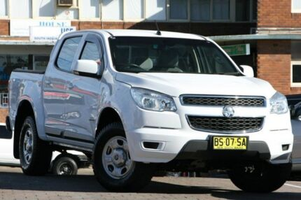 2012 Holden Colorado RG LX (4x2) White 6 Speed Automatic Crewcab Waitara Hornsby Area Preview