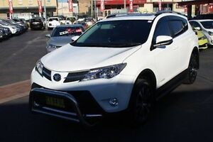2015 Toyota RAV4 ALA49R MY14 Cruiser AWD White Sports Automatic Wagon South Maitland Maitland Area Preview