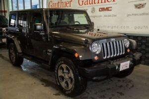 2017 Jeep Wrangler Unlimited Sahara 4x4, Navigation, Heated Seat