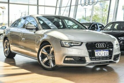 2015 Audi A5 Silver Constant Variable Hatchback Osborne Park Stirling Area Preview