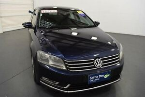 2012 Volkswagen Passat 3C MY13 118 TSI Blue 7 Speed Automatic Sedan Moorabbin Kingston Area Preview