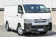 2016 Toyota Hiace LWB TRH201R White Automatic Van Cannington Canning Area Preview