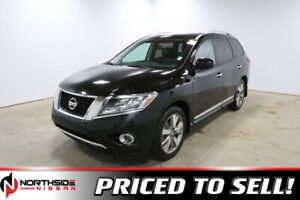 2014 Nissan Pathfinder 4WD PLATINUM Navigation,  Leather,  Heate