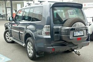 2010 Mitsubishi Pajero NT MY10 Activ Gunmetal 5 Speed Sports Automatic Wagon