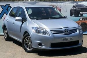 2010 Toyota Corolla ZRE152R MY10 Ascent Blue Automatic Hatchback