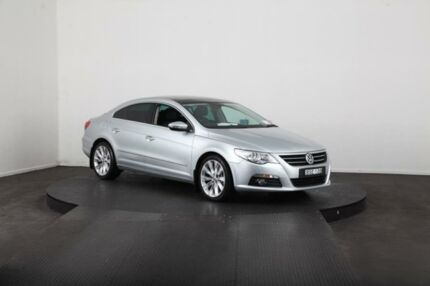 2010 Volkswagen Passat CC 3C MY10 V6 FSI Silver 6 Speed Direct Shift Coupe