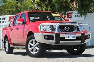 2012 Nissan Navara D40 S6 MY12 ST 25th Anniversary Red 6 Speed Manual Utility Gosnells Gosnells Area Preview