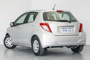2013 Toyota Yaris NCP130R YR Silver 4 Speed Automatic Hatchback Bellevue Swan Area Preview