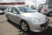 2007 Peugeot 307 T6 XS HDI Touring Silver 5 Speed Manual Wagon Kingsville Maribyrnong Area Preview