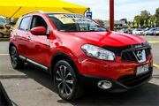 2013 Nissan Dualis J10W Series 4 MY13 Ti-L Hatch X-tronic 2WD Red 6 Speed Constant Variable Ringwood East Maroondah Area Preview