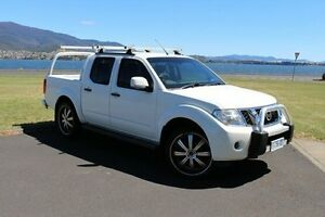 2012 Nissan Navara D40 S6 MY12 ST White 6 Speed Manual Utility Invermay Launceston Area Preview