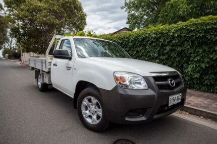 2010 Mazda BT-50 UNY0W4 DX White 5 Speed Manual Cab Chassis