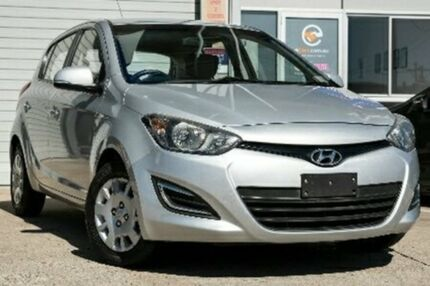 2013 Hyundai i20 PB MY13 Active Silver Automatic Hatchback