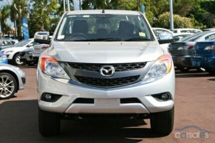 2015 Mazda BT-50 B32Q XTR Highlight Silver 6 Speed Automatic Utility Cannington Canning Area Preview