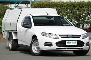 2012 Ford Falcon FG MkII Super Cab Winter White 6 Speed Sports Automatic Cab Chassis Acacia Ridge Brisbane South West Preview