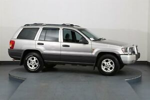 2000 Jeep Grand Cherokee WJ Laredo (4x4) Grey 4 Speed Automatic 4x4 Wagon Smithfield Parramatta Area Preview